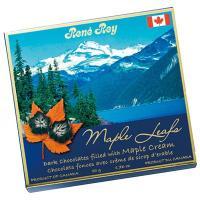 カナダ土産 カナダお土産 みやげ おみやげ カナディアンロッキー ダークメープルチョコレート 1箱 ...