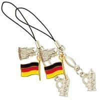 ドイツ土産 ドイツお土産 みやげ おみやげ ドイツ 携帯ストラップ 2コセット  ノイシュヴァンシュ...