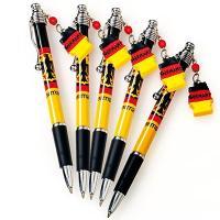 ドイツ土産 ドイツお土産 みやげ おみやげ ドイツ国旗ボールペン 5本セット  遊び心のある、地図型...