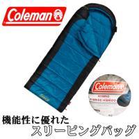 Coleman コールマン 寝袋 HYBRID ハイブリッド マミー型シュラフ 耐冷温度 -1℃まで対応 83.8cm×215.9 cm スリーピングバッグ