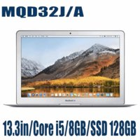 新品 ノートパソコン Apple アップル MacBook Air MQD32J/A 13.3インチ SSD128GB 1800/13.3 Intel Core i5 マックブックエアー MQD32JA