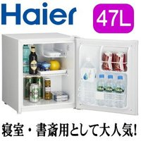 【製品仕様】 ドア数:1 容量(L):47 冷蔵室容量(L):47 外形寸法(mm):幅439×奥行...