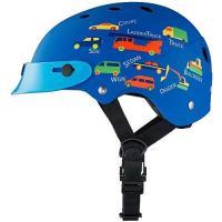 ■カラー:ブルー ■サイズ:46から52cm ■丈夫なハードシェルタイプ ■バイザー標準装備 ■頭に...