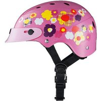 ■カラー:ピンク ■サイズ:46から52cm ■丈夫なハードシェルタイプ ■バイザー標準装備 ■頭に...