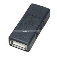 USB中継アダプター USB2.0(A)(メス)→USB2.0(A)(メス)中継用 ケーブル延長 先端形状変更 2AA-FF
