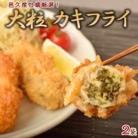 牡蠣フライ 邑久産 大粒カキフライ 2袋 1袋20粒入:1粒30g かきフライ かき 牡蠣 カキ お弁当 揚げ物 送料無料 冷凍同梱可能