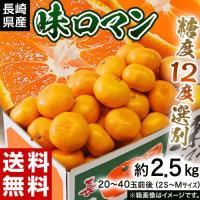 糖度12度以上の甘〜いみかんを、 お得に味わうなら長崎の「味ロマン」です!  長崎は九州におけるみか...
