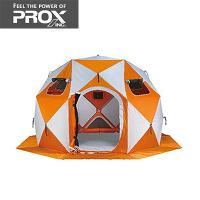 ◆簡単に設置可能なワカサギ釣り用テント。12箇所ある紐を引くだけの簡単設置。 ◆強度のあるグラスファ...