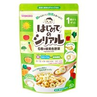 和光堂 はじめてのシリアル 6種の緑黄色野菜 (40g) 1歳から ベビーフード ※軽減税率対象商品