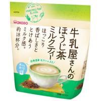 和光堂 牛乳屋さんのほうじ茶ミルクティー 袋 約18杯分 (200g) インスタント ほうじ茶 ※軽減税率対象商品