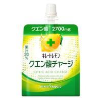 ポッカサッポロ キレートレモンクエン酸チャージゼリー パウチ (180g) ゼリー飲料 ※軽減税率対象商品