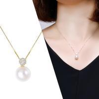 ダイヤのお花とパールの贅沢ネックレス! 上質なK18の輝きがパールの輝きを惹きたててくれます。   ...
