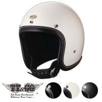 装飾用ヘルメット 500-TX マシニングレザーリムショット ブラックレザー スモールジェットヘルメ...