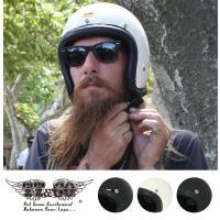 装飾用ヘルメット 500-TX ヴィンテージレザートリム ブラックレザー XS,S,M/L,XL/X...