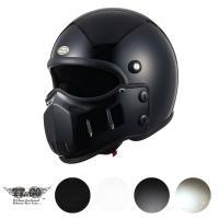 マッドマッスクJ01 ジェットヘルメット SG規格  脱着可能なマスクが付いたジェットヘルメットです...