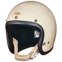 スーパーマグナム メイプルグロー スモールジェットヘルメット SG/DOT 規格品  ヴィンテージを...