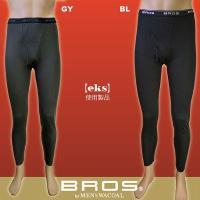 ワコール BROS(ブロス)デザイニングサーモ あったかインナー足首丈パンツ(前開きズボン下) 発熱...