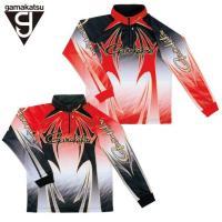 タイトルがまかつ Gamakatsu 2WAYプリントジップシャツ GM-3371商品説明数量限定非...