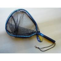 商品説明 マルシン漁具 ラバーネット RND−NR Short です。  魚にやさしい軽量ラバーネッ...