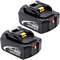 マキタ バッテリー 18V 6.0ah  BL1860 互換品 2個セット