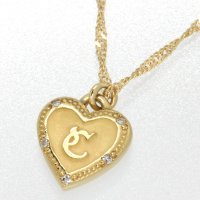 [商品名] アーカー ハート ダイヤモンド ネックレス [形状]ペンダントネックレス [素材] K1...
