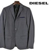 ディーゼル DIESEL テーラードジャケット メンズ ウール混 シングル 1B J-USOP