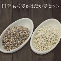 食物繊維たっぷりの「もち麦」と「押はだか麦」をセットで2000円ポッキリ価格! なんと食物繊維はゴボ...