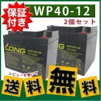 2個セットセニアカー用SER38-12互換バッテリーWP40-12ET4マイメイトモンパル