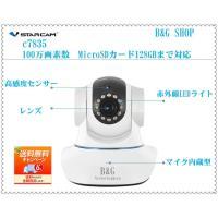 防犯カメラ IPカメラ  日本語対応  ベビーモニター 出産祝い 設定簡単 ネットワークカメラ 10...