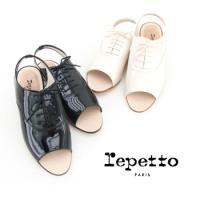 【repetto-レペット】 レディース Open toe oxford shoes Vip レース...
