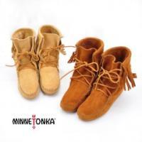 【MINNETONKA-ミネトンカ】 Ankle Hi Tramper Boot レースアップフリン...