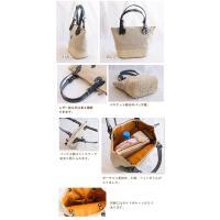 レザー使い バスケット×ファブリック コンビカゴバッグ CLEDRAN クレドラン CANVAS COMBI BASKET CL2441 かばん 鞄 バック かご
