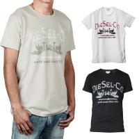 Tシャツ ディーゼル T-ELFAX MAGLIETTA メンズ トップス Tシャツ ■カラー■ カ...