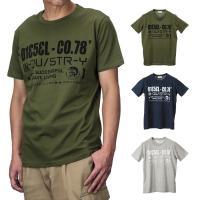 Tシャツ ディーゼル T-NUCK MAGLIETTA メンズ トップス 00S4Y1 Tシャツ U...