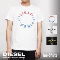 Tシャツ ディーゼル メンズ トップス Tシャツ ■カラー■ カラー:ブラック/グレー/ホワイト  ...