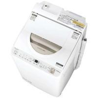 シャープ縦型洗濯乾燥機 洗濯5.5kg/乾燥3.5kg ES-TX5B-N [配達日、時間指定不可、代引不可]