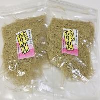 【メール便送料無料】お得な2袋セット骨までたべやすい おつまみや料理に とろろちりめん 100g×2袋