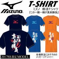 /メーカー ミズノ(MIZUNO) /品名 Tシャツ(この一瞬一瞬が真剣勝負) /品番 32JAE7...