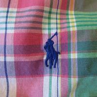 POLO RALPH LAUREN  ポロ ラルフローレン BOYS SHORT SLEEVE CHECK SHIRT ボーイズ半袖チェックシャツ/ピンクマルチ/#176254
