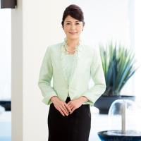 【商品内容】 ジャケット / スカート   【特 徴】 爽やかなミントグリーンのジャケットのフォーマ...