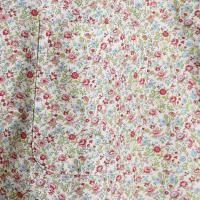 AFIELD エーフィールド 半袖シャツ 花柄シャツ リバティーン プレミアムコットン メンズ 2色 ブルー ホワイト