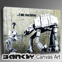 Banksy バンクシー キャンバスアート 壁掛け アート アートパネル アートフレーム インテリア...