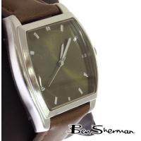 ベンシャーマン Ben Sherman ラウンド グリーン フェイス 腕時計 メンズ 【送料無料】 ...