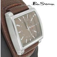 Ben Sherman ベンシャーマン 腕時計 Wrist Band Brown Face Leat...