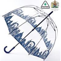英国王室御用達 FULTON 【送料無料】 傘 London Icons ブランド ネイビー 紺 正...