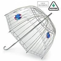【送料無料】長傘 かさ 鳥かご ラブバーズ birdcage 透明 クリア ビニール傘 フルトン x...