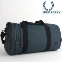 【送料無料】 フレッドペリー Fred Perry バレル ドラム バッグ ショルダー ドラムバッグ...