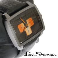 ベンシャーマン Ben Sherman ブラック フェイス 腕時計 メンズ モッズ ファッション 【...