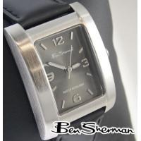 Ben Sherman ベンシャーマン 腕時計 メンズ ブラックシルバー フェイス ガンメタル スク...