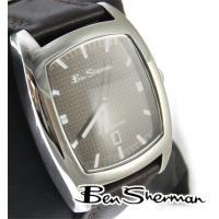 Ben Sherman ベンシャーマン 腕時計 メンズ チョコレート ホール フェイス アナログ ウ...